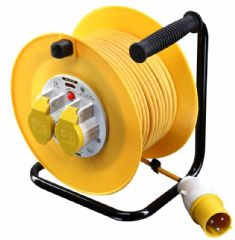 MASTERPLUG LVCT5016/2  Cable Reel 110V 50M 2X16A